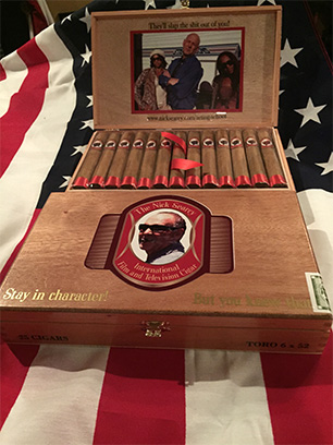 Nick Searcy International Film and Television Cigar